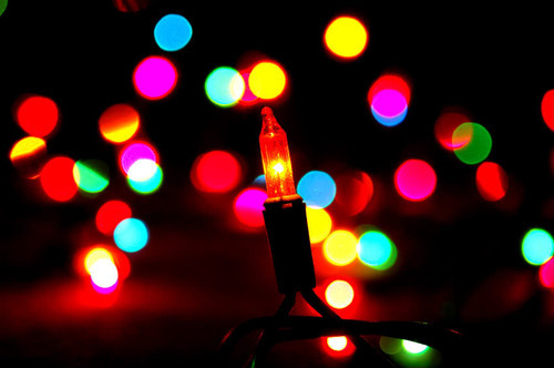 String Christmas Lights Together : Like Strings of Christmas Lights. Like Boughs of Holly. Like Fa La La La La, which an extra La ...